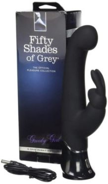 Best Rabbit Vibrators - 50 shades of grey greedy girl