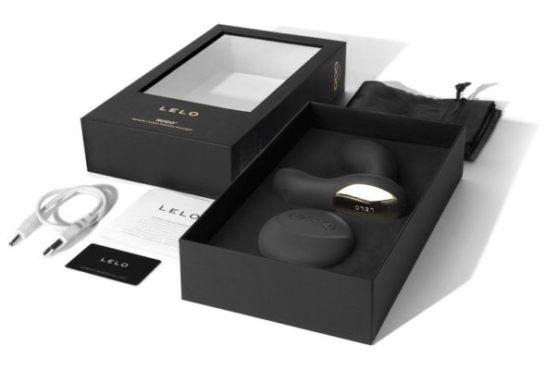 Lelo Hugo Review — Remote Controlled Prostate Massager - Lelo Hugo Packaging
